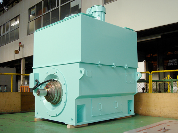 4) 2P-8000kW-4100~8200min-1-3kV class-137Hz Induction Motor