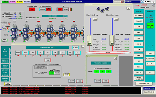HMI (Human Machine Interface)